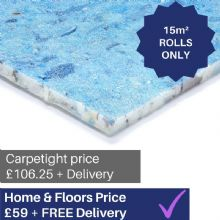 8mm Regal Deluxe - carpet underlay 15m² ROLLS